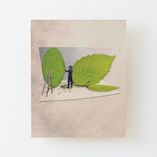 tree print Wood Mounted Print