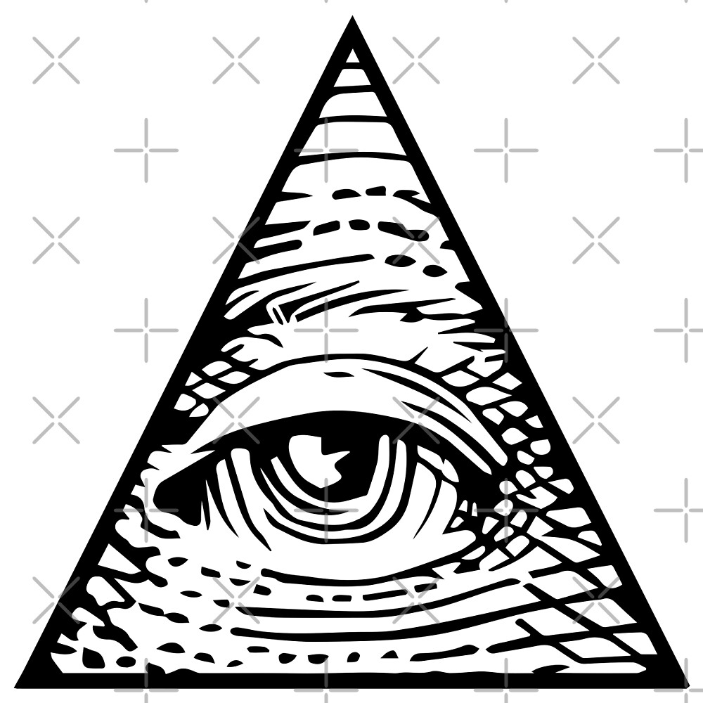 """illuminati Eye of Providence"" by boxsmash 
