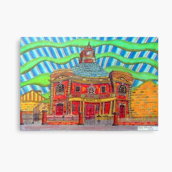 380 - PLAS MWYNWYR, RHOS - DAVE EDWARDS - COLOURED PENCILS - 2013 Canvas Print