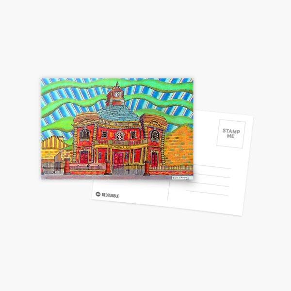 380 - PLAS MWYNWYR, RHOS - DAVE EDWARDS - COLOURED PENCILS - 2013 Postcard