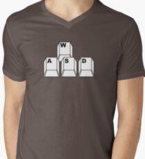WASD Men's V-Neck T-Shirt