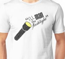 Dean Winchester: Flashlight Wielder Unisex T-Shirt