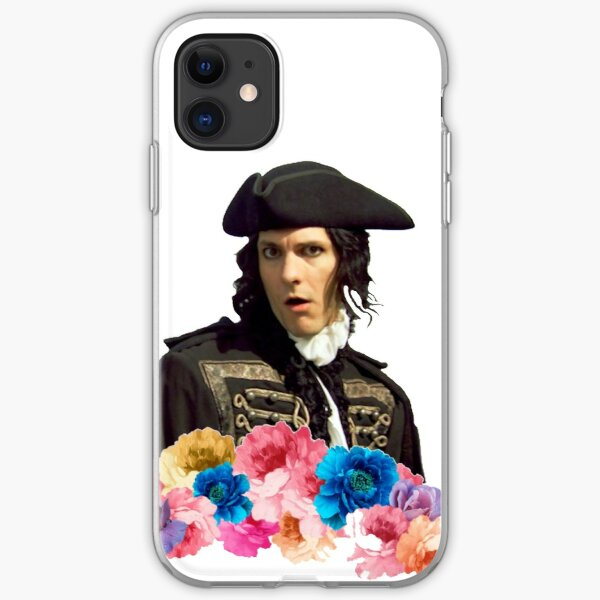 Horrible Histories ,Dick Turpin Flowers  iPhone Soft Case