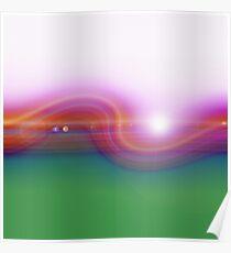 Waved Horizon Poster