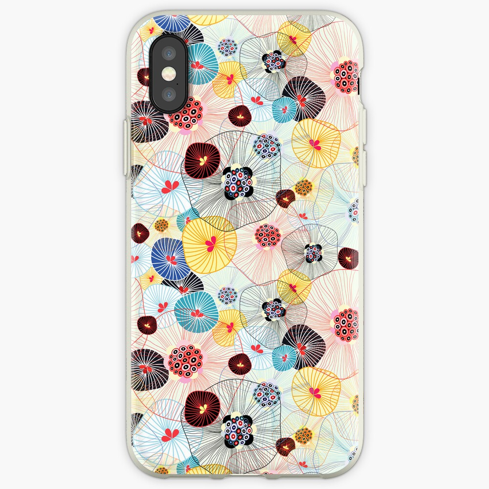 abstract pattern iPhone-Hülle & Cover
