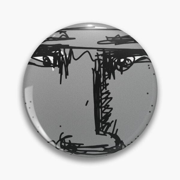Ugly Grey Pin