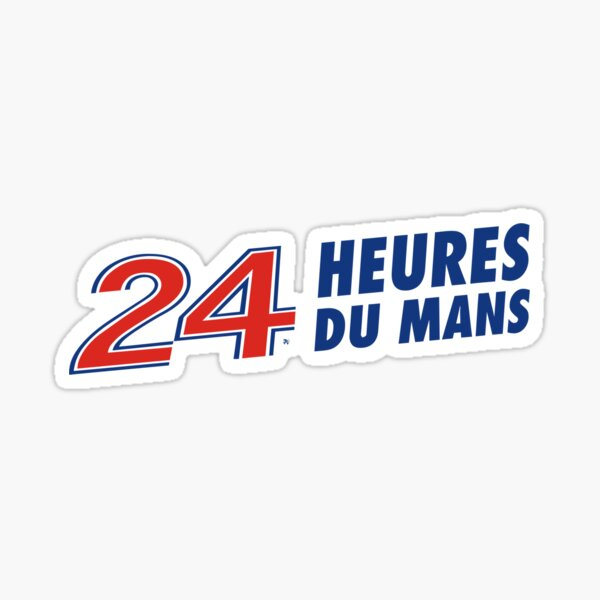 Logo 24 heures du mans Sticker