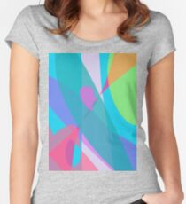 Communication in the Sky Women's Fitted Scoop T-Shirt