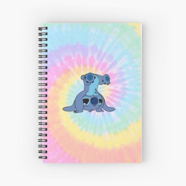 colorfull Stitch Spiral Notebook