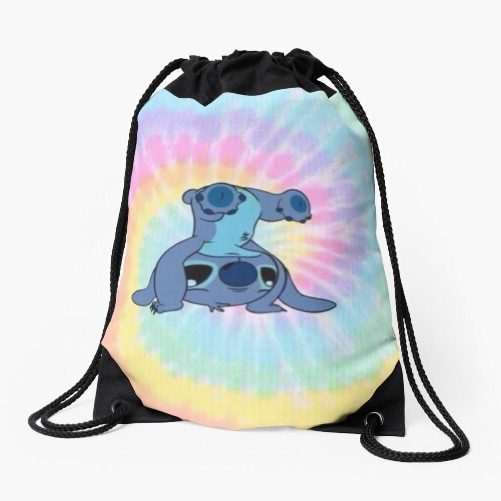 colorfull Stitch Drawstring Bag