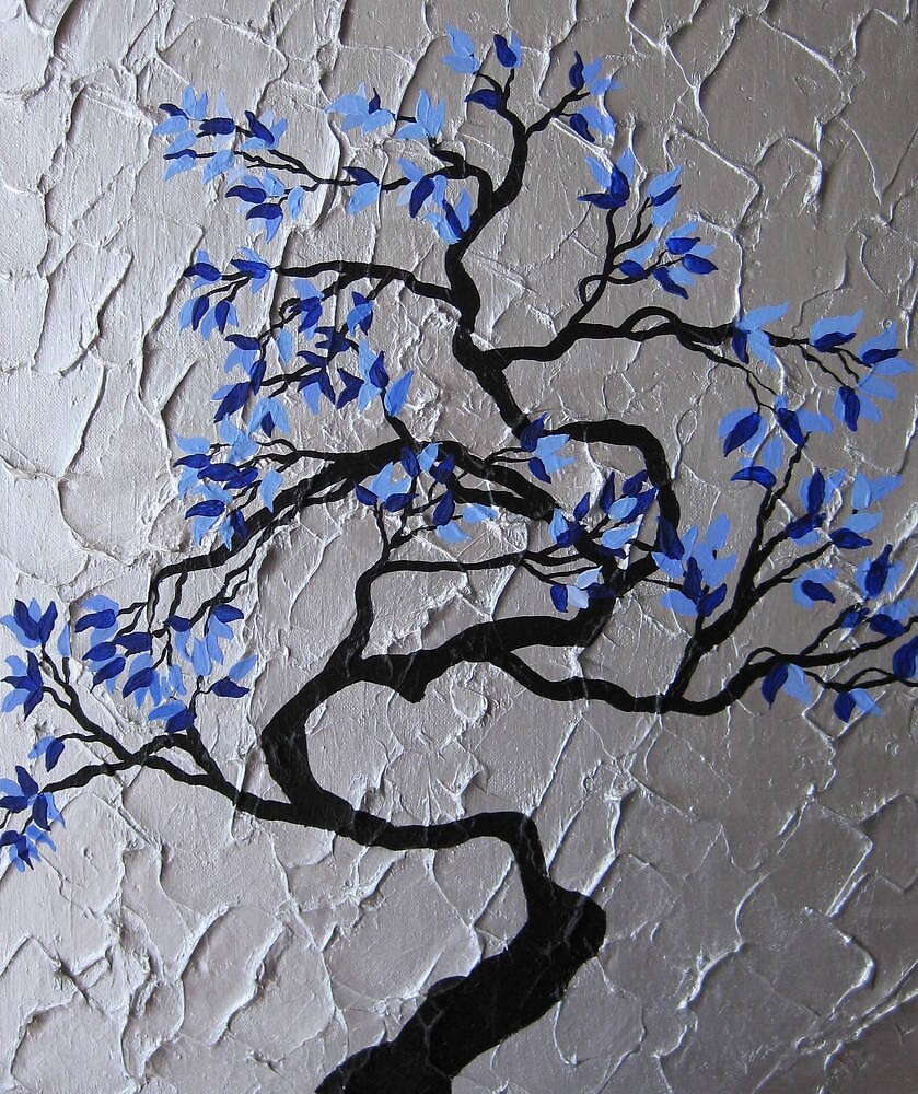 zen bonsai tree by Catherine Jacobs of SheerJoy by cathyjacobs