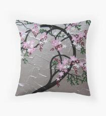 Cherry blossom ( Sakura ) Throw Pillow