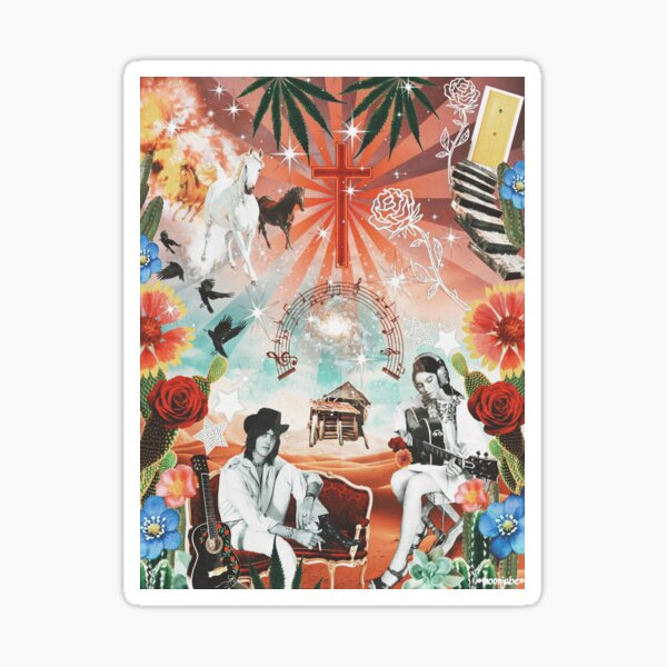 Grevious Angels Gram Parsons Sticker