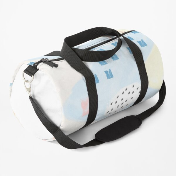 boho pastel assorted print  Duffle Bag