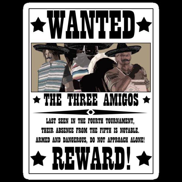 DOA5 - The Three Amigos by PJudge