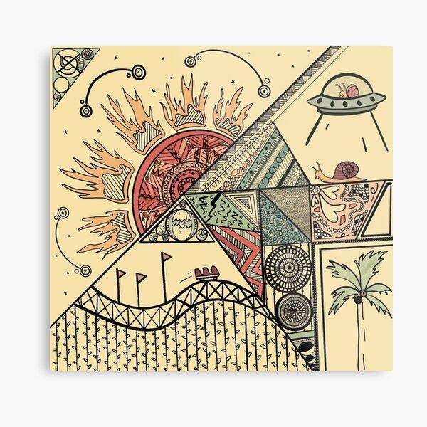 Birth of the Snail Metal Print