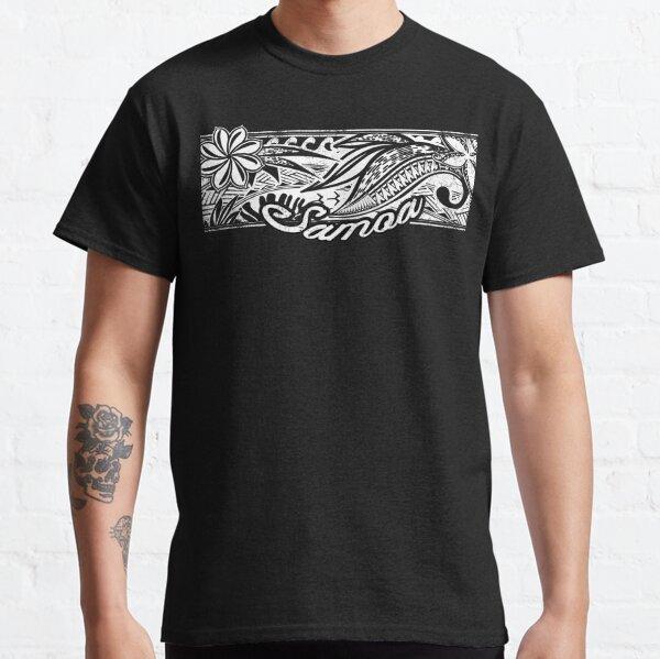 Samoan Tribal Banner Classic T-Shirt