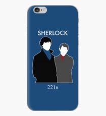 Sherlock and Watson iPhone Case