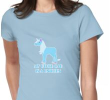 my other car is a unicorn  Womens Fitted T-Shirt