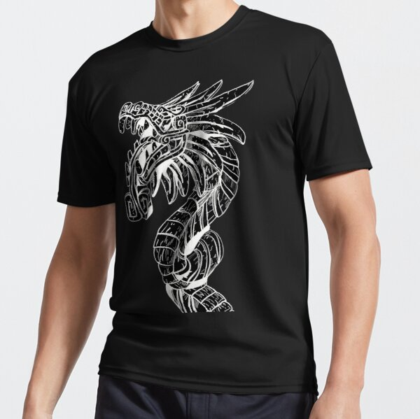 Quetzalcoatl Dragon  Active T-Shirt
