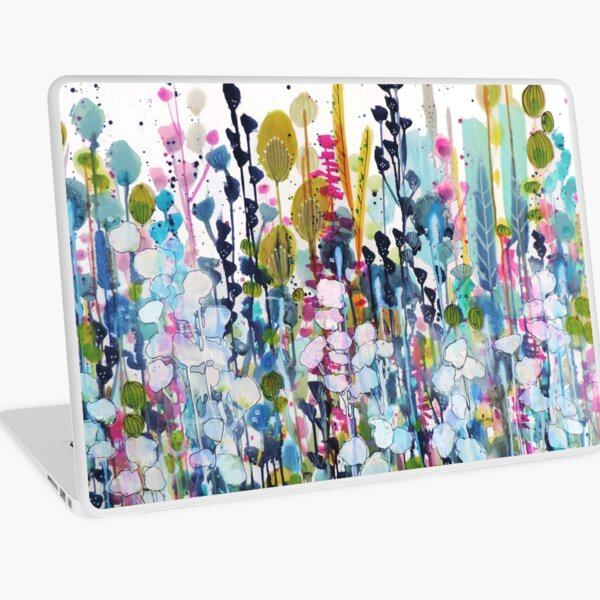 colorful side road Laptop Skin