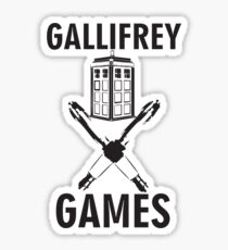 Gallifrey Games Sticker