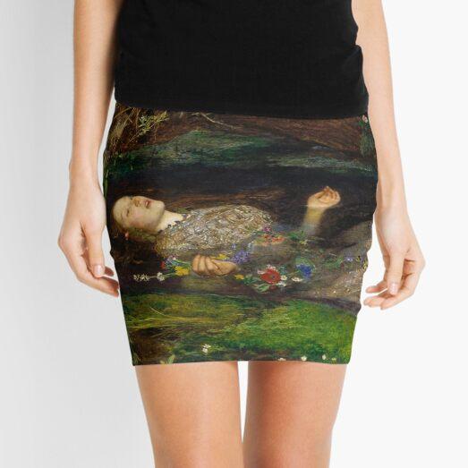 William Shakespeare, play, Hamlet, Ophelia. Painting by British artist, Sir John Everett Millais. Mini Skirt
