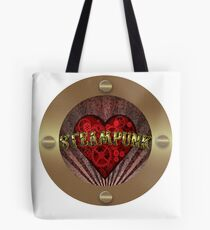 STEAMPUNK HEART Tote Bag
