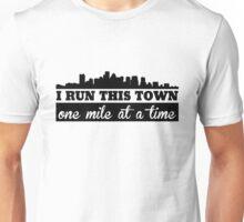 Boston Marathon, One Mile At A Time Unisex T-Shirt
