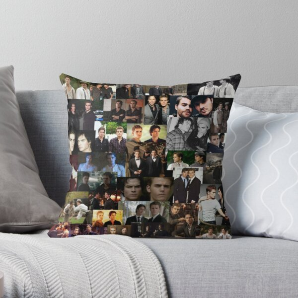 ian and paul (salvatore bros) Throw Pillow