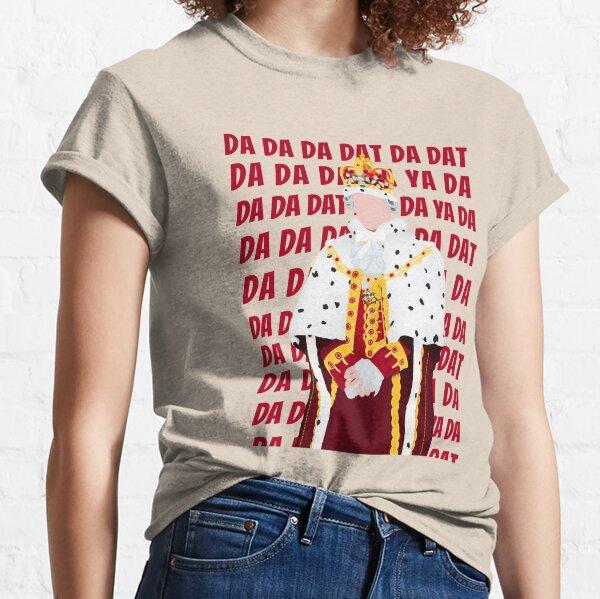"King George ""Dat da da"" Hamilton on Broadway Classic T-Shirt"