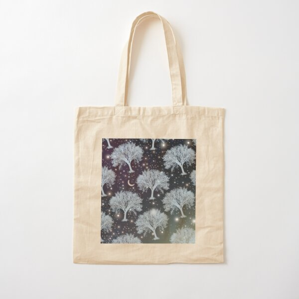 TREE dreamy pattern  Cotton Tote Bag