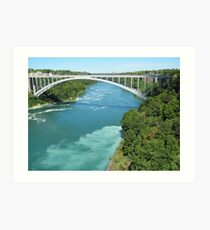Mighty Niagara Art Print