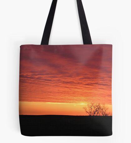 Blazing Plains Tote Bag