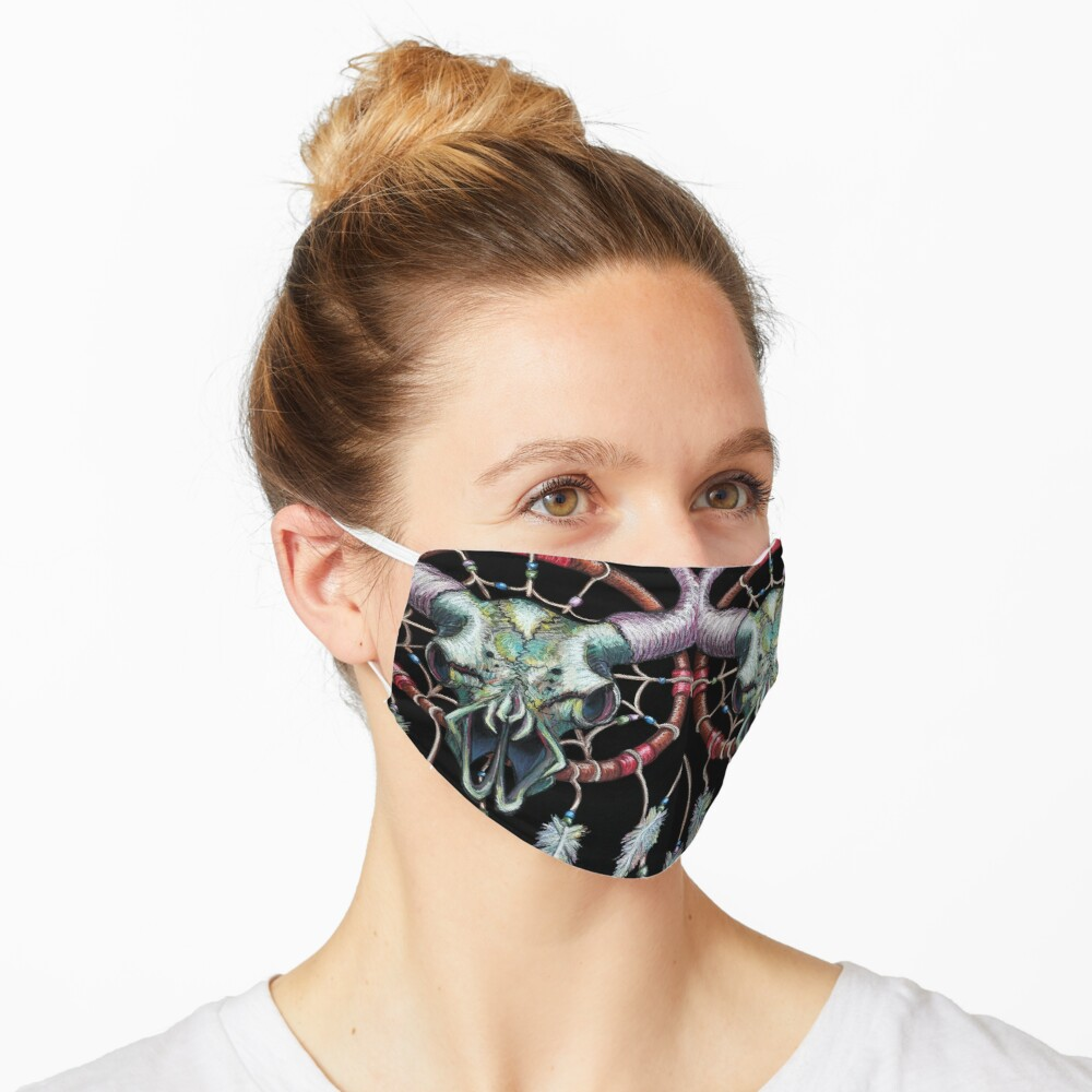 Buffalo Dreams Mask