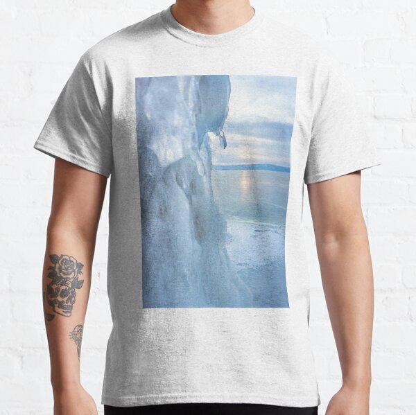 Ice cliff of Lake Baikal Classic T-Shirt