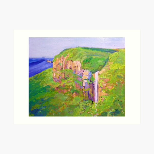 Govetts Leap ,Blue Mountains Australia. Art Print