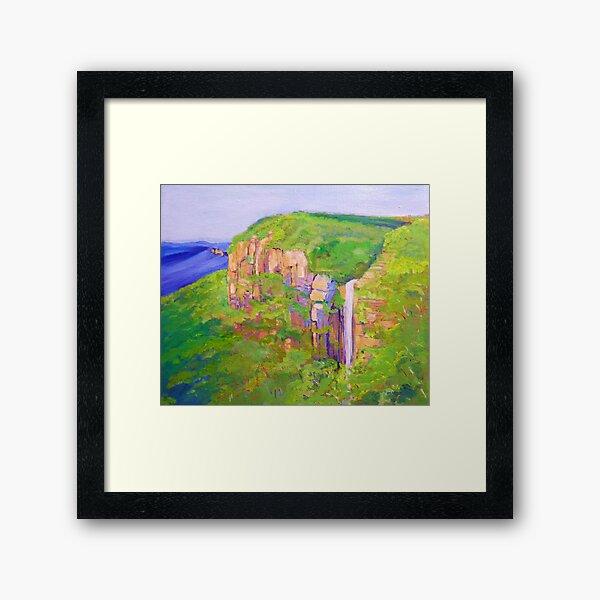 Govetts Leap ,Blue Mountains Australia. Framed Art Print