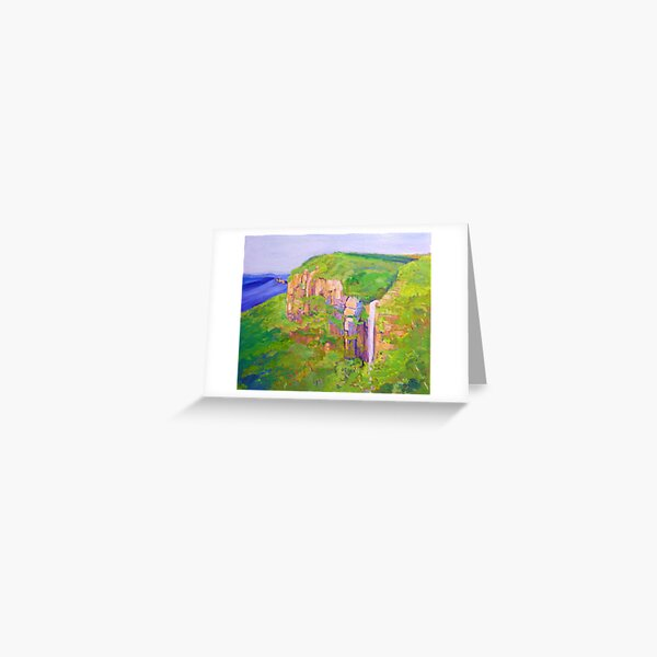 Govetts Leap ,Blue Mountains Australia. Greeting Card