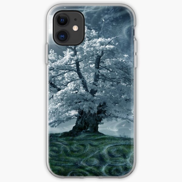The White Leaved Oak iPhone Soft Case