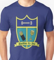 Bender's Family Crest: Drugs,Sex, and Alcohol Slim Fit T-Shirt