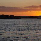 African Sunset #3 by Pauline Adair