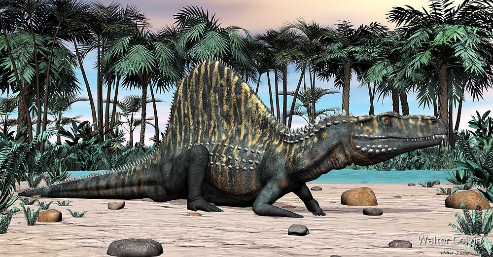 Arizonasaurus by Walter Colvin