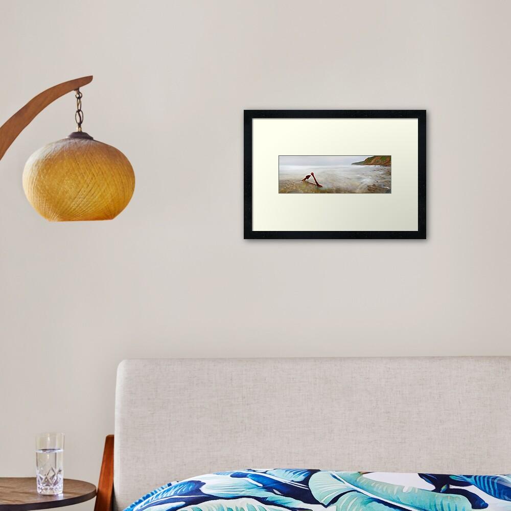 Marie Gabrielle Anchor, Shipwreck Coast, Victoria, Australia Framed Art Print