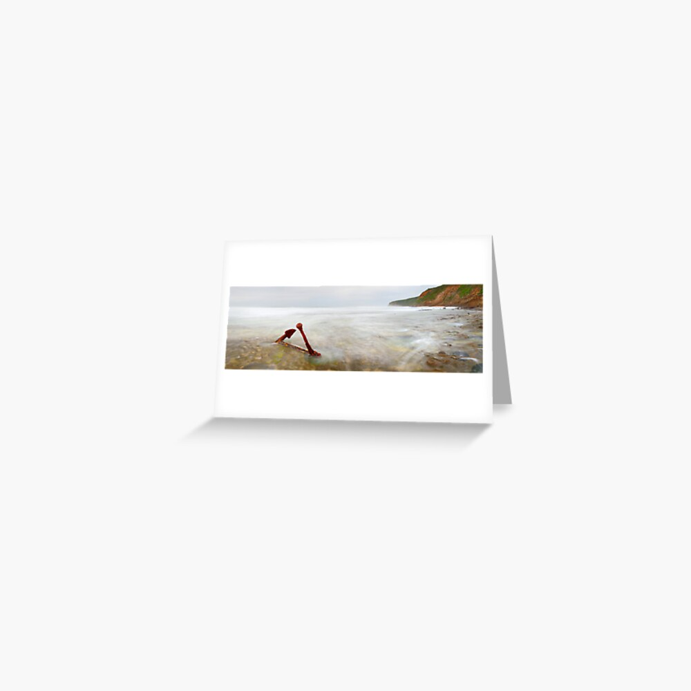 Marie Gabrielle Anchor, Shipwreck Coast, Victoria, Australia Greeting Card