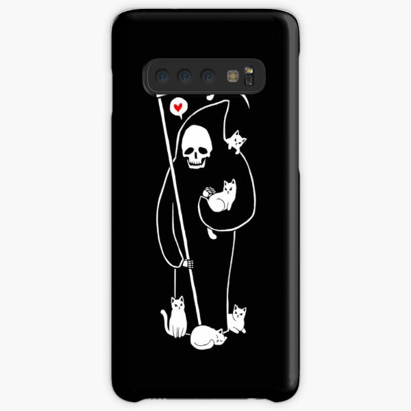 Death Is A Cat Person Samsung Galaxy Snap Case