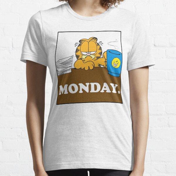 Garfield I Hate Monday Essential T-Shirt