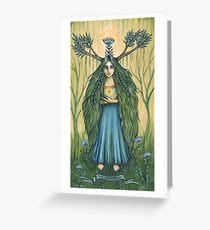 Alyenora -the Seed Keeper Greeting Card