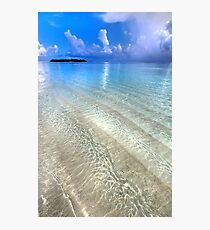Crystal Water of the Ocean Photographic Print