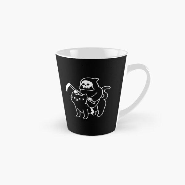Death Rides A Black Cat Tall Mug